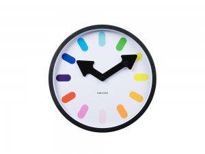 Pictogram Rainbow Wall Clock