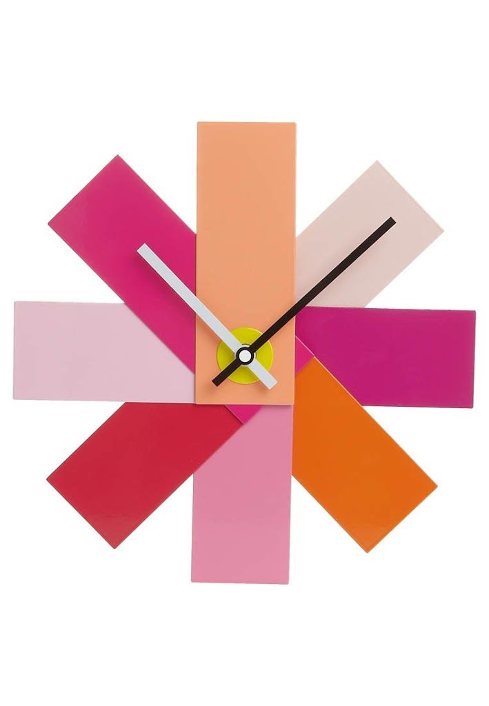 Top 10 Colourful Clocks Red Candy Blog