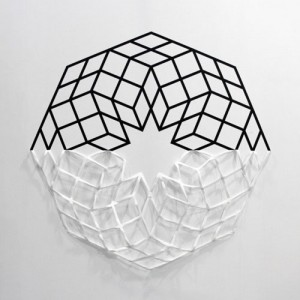Geometric Tape Installations by Aakash Nihalani in art  Category
