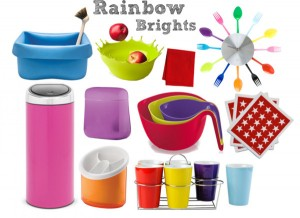 Rainbow Brights for the Kitchen
