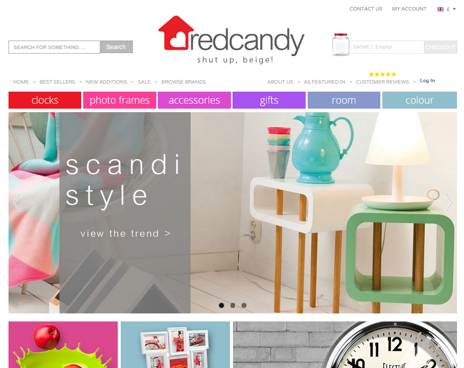 Red Candy website