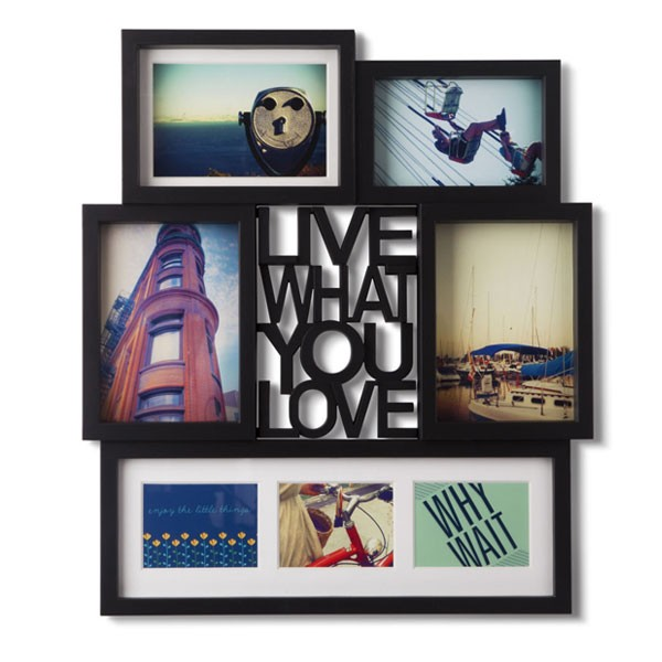 umbra-motto-photo-display-black
