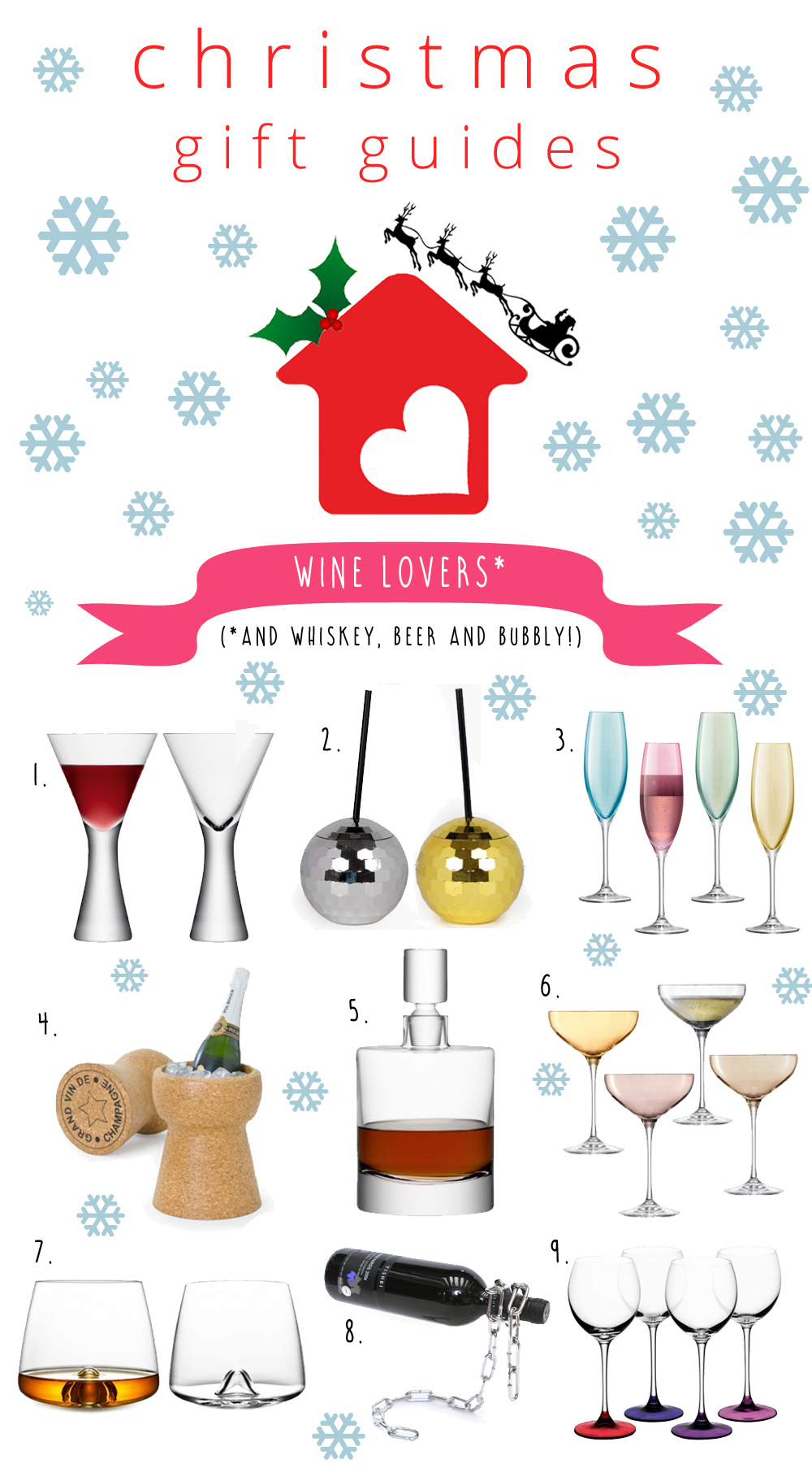 xmas gift guides wine etc