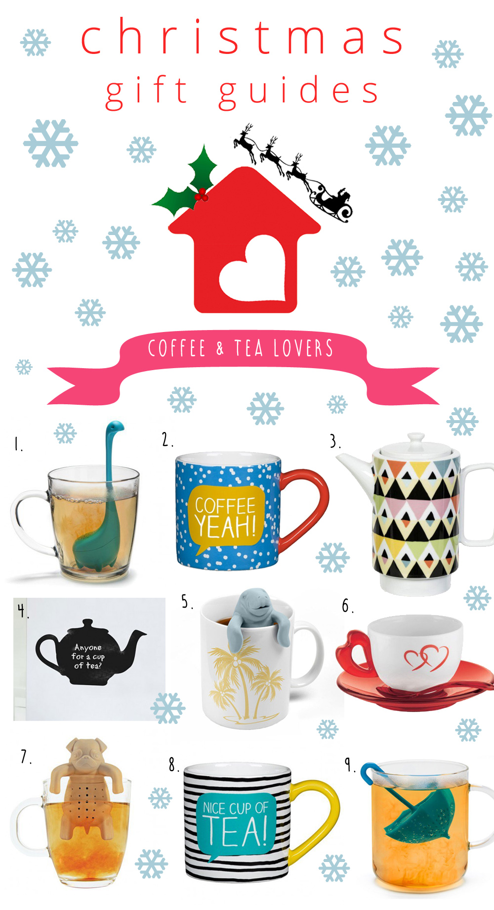 xmas guides coffee lovers