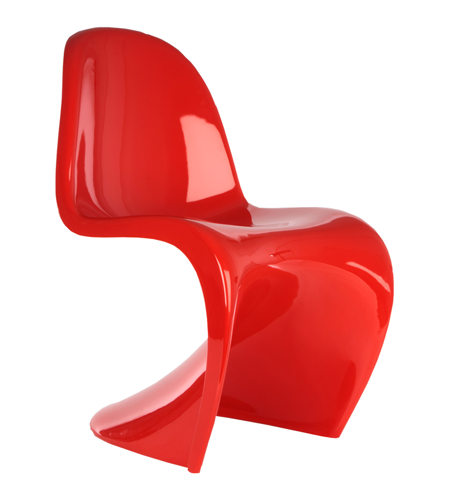 Iconic chairs in red red candy blog for Modern recliner chairs design