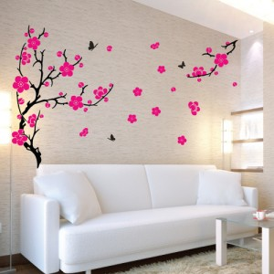 Plum Blossom Wall Stickers