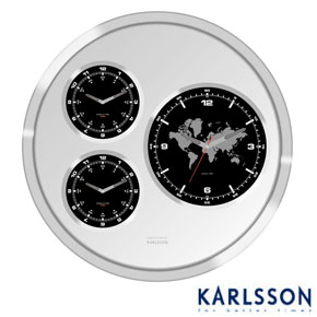 Karlsson Big Tic Worldtime Clock