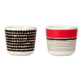 Marimekko Siirtolapuutarha Egg Cups Set of Two