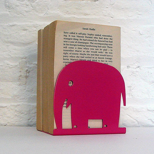 susanbradley-pink-elephant-bookend