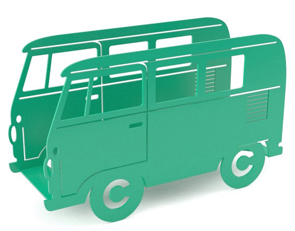 balvi-campervan-magazine-rack-green-1