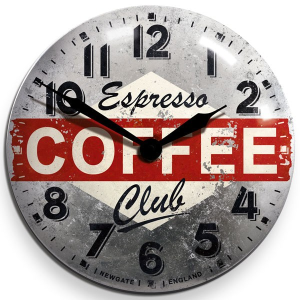 newgate-coffee-advertising-wall-clock