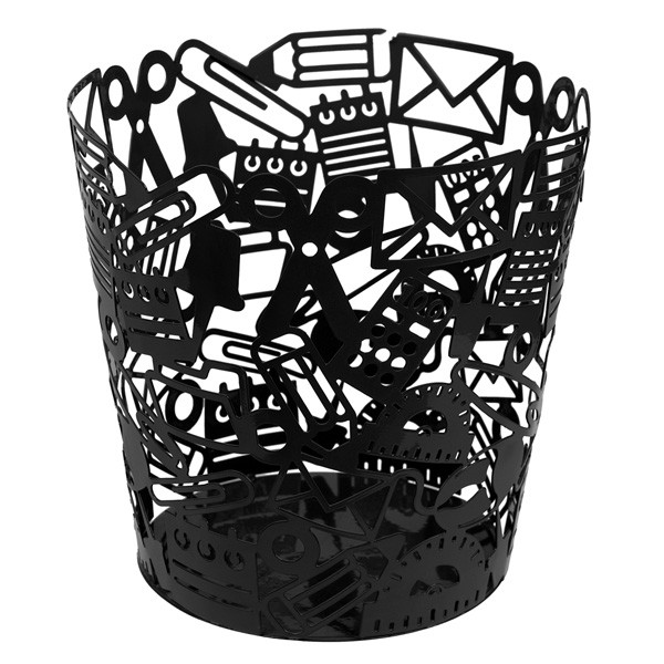 balvi-stationery-waste-paper-bin-black-1