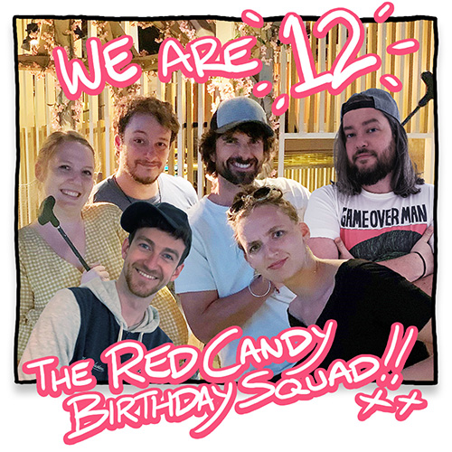 The Red Candy Team!