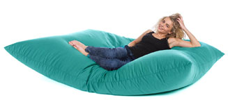 Oxford Bean Bag (Black 3 Sizes) - Red Candy