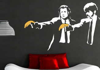 Banksy Wall Stickers
