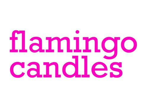 Flamingo Candles