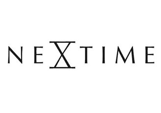 Nextime In Touch Clock – black designer wooden wall clock
