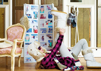 floor standing photo frames