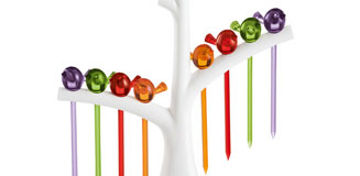 Koziol Pic Nix - party toothpick dispenser - funky tableware