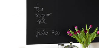 Cooking Pot Chalkboard Wall Sticker - menu blackboard for kitchen