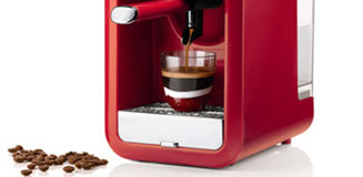 Nespresso Pixie Electric Red - Nespresso red coffee machine