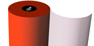 Renova Blue Kitchen Roll - funky paper towel - buy from Red Candy