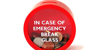 Emergency Money Box - Suck UK break glass piggy bank