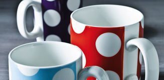 Happy Days Mug - fun & funky designer mug by Happy Jackson