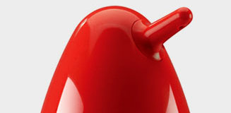 Confetti Square Soap Pump - red cube soap dispenser