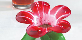 Audrey Murano by Koziol - flower tea strainer - tea infuser