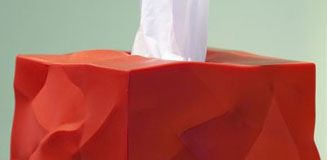 Maximug Tissue Holder - Red Candy