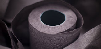 Renova Blue Toilet Paper - funky toilet roll from Red Candy