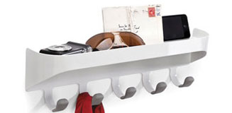 Umbra Estique Hallway Organiser - multi-purpose wall storage