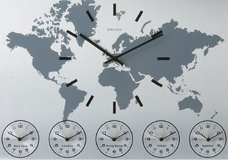 World Time Clocks