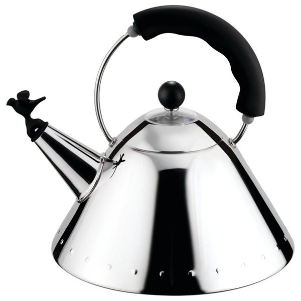 Alessi Bird Kettle  Black