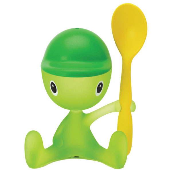 Alessi Cico Egg Cup  Green Bud