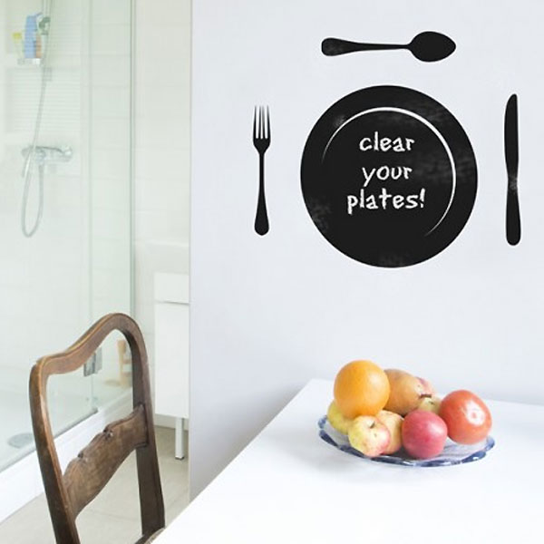 Blackboard Plate Wall Sticker - Baby  Birthday Your Baby Gifts - Girls - 6-12 months