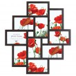 Maggiore V Multi Picture Frame - Red Candy