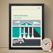 Back to the Future Art Print - Red Candy