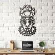 Mask of Salvation Wall Art - Red Candy