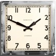 Newgate Quad Clock (Chrome) - Red Candy