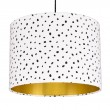 Dalmatian Spots Lampshade (Gold) - Red Candy