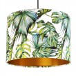 Tropical Lampshade (White & Gold) - Red Candy