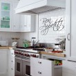 Bon Appetit Wall Sticker (Large) - Red Candy