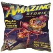 Pulp World Without Women Cushion (2 Sizes) - Red Candy