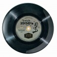 50's Record Side Plate - Red Candy