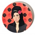 Amy Winehouse Plate - Red Candy