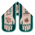 Bake Love Double Oven Glove - Red Candy