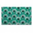 Palm Leaf Doormat - Red Candy
