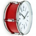 Beat It Drum Wall Clock (Red) - Red Candy